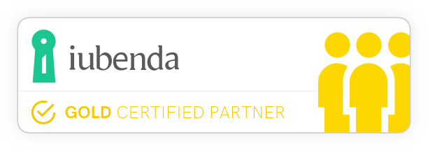 Iubenda gold partner
